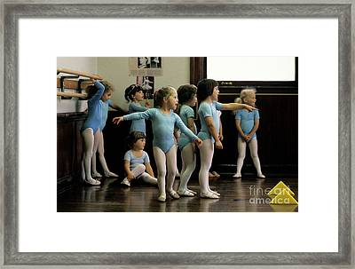 Young Ballet Dancers  Framed Print