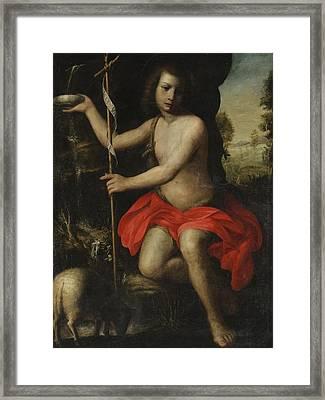 Young Saint John The Baptist Framed Print