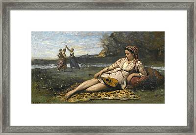 Young Women Of Sparta Framed Print