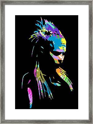 Zef 2014 Yolandi Framed Print by Jera Sky