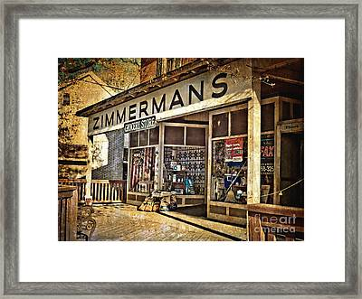 Zimmermans Framed Print by Kathy Jennings