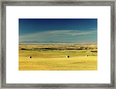 10 10 10 Am On 10 10 10 Framed Print