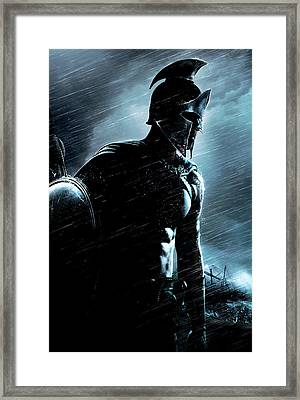 300 Rise Of An Empire 2014 Framed Print