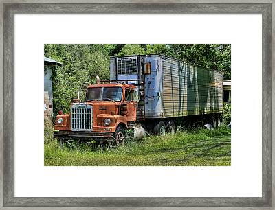 Framed Print featuring the photograph 10-4 Good Buddy by Victor Montgomery