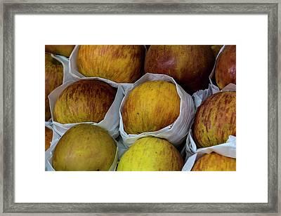 Apples Framed Print by Robert Ullmann
