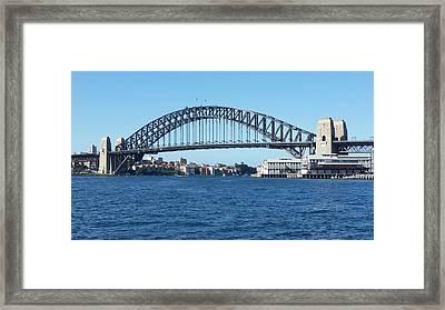 Australia - Sydney Harbour Bridge From Balmain Framed Print