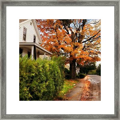 Autumn Series Framed Print