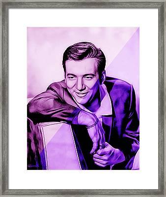 Bobby Darin Collection Framed Print