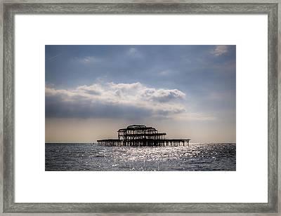 Brighton Framed Print by Joana Kruse