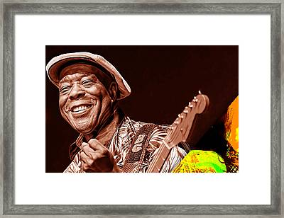 Buddy Guy Collection Framed Print by Marvin Blaine