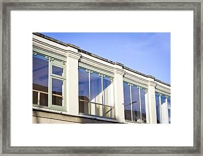 Building Exterior Framed Print