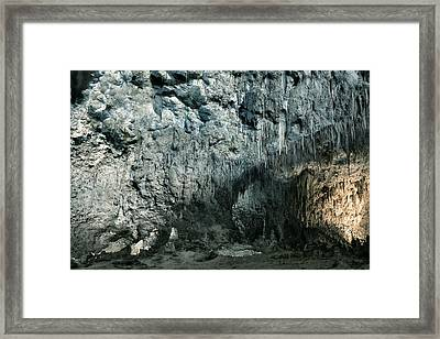Carlsbad Caverns Framed Print by Stephen  Vecchiotti