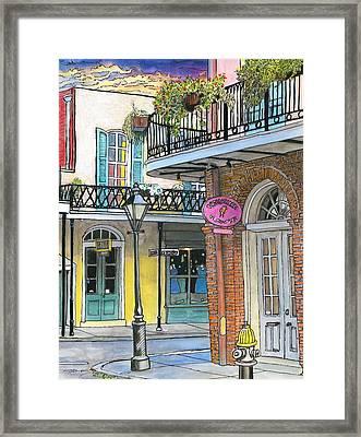 10  Carre Vieux Framed Print