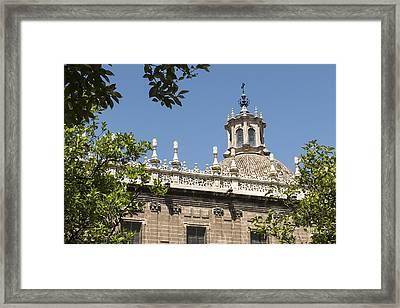 Cathedral Of Seville - Seville Spain Framed Print