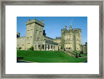 Dromoland Castle Near Shannon Ireland Framed Print by Carl Purcell