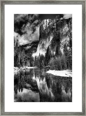 El Capitan Framed Print by Marc Bittan