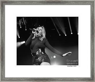Ellie Goulding Framed Print