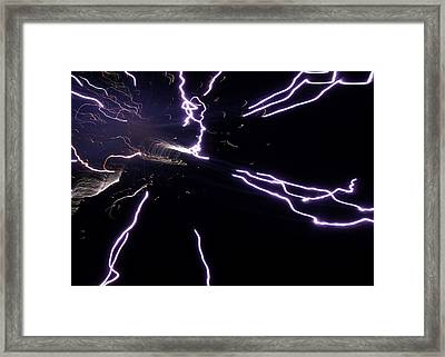 Entering The Twilight Zone Framed Print by Faba Fouret