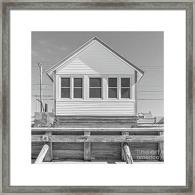 Framed Print featuring the photograph 10 - Flower Cottages Series by Edward Fielding