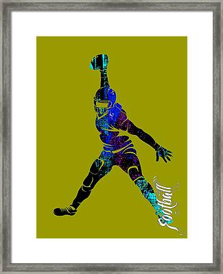 Football Collection Framed Print