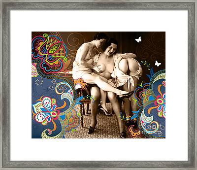 Goddesses Framed Print by Chris Andruskiewicz