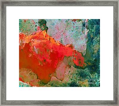 Goree Texture - Exploring Framed Print