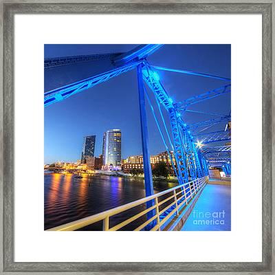 Grand Rapids  Framed Print