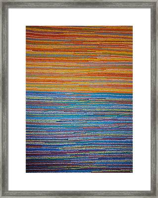 Framed Print featuring the painting Identity by Kyung Hee Hogg