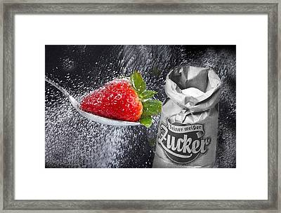 In The Kitchen.. Framed Print by Manfred Lutzius