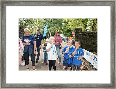 Jdrf One Walk Cardiff 2017  Framed Print
