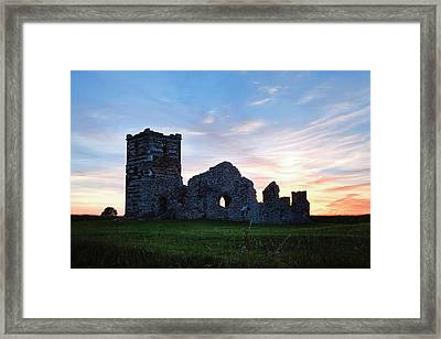 Knowlton Church - England Framed Print by Joana Kruse