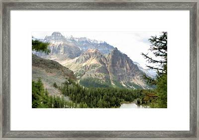 Landscape Canvas Art Paintings Oil Framed Print by Victoria Landscapes