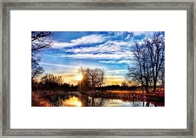 Landscape Print Framed Print