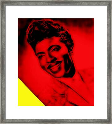 Little Richard Collection Framed Print