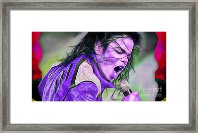 Michael Jackson Collection Framed Print