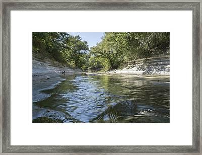 10 Mile Creek Framed Print by Ricky Dean
