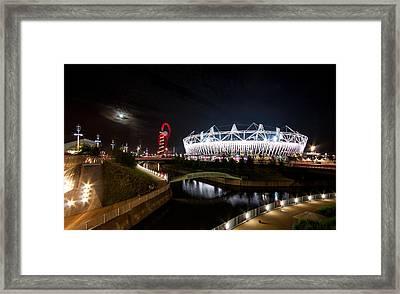 Olympic Park Framed Print by Dawn OConnor