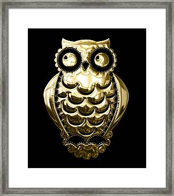 Owl Collection Framed Print by Marvin Blaine