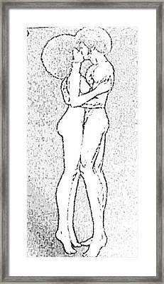 Pinup Framed Print