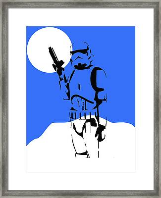 Star Wars Stormtrooper Collection Framed Print by Marvin Blaine