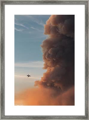 10 Tanker Framed Print by David Horn
