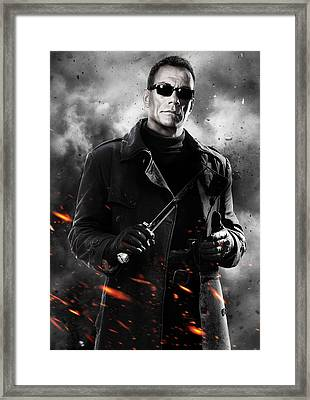 The Expendables 2 2012  Framed Print