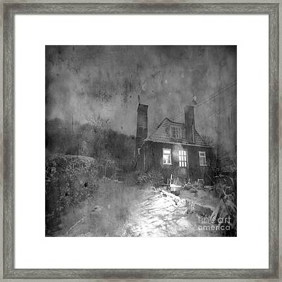The Winter Time Framed Print by Angel  Tarantella