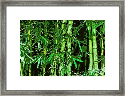 Tree Collection Framed Print by Marvin Blaine