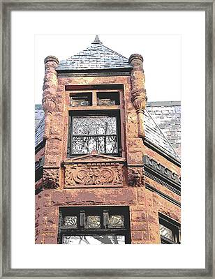 Window Series Framed Print by Ginger Geftakys