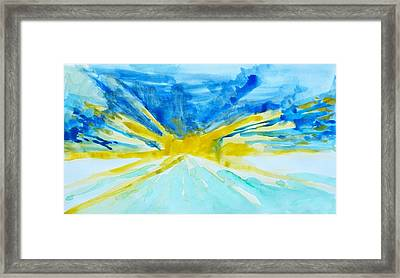 Memory Of A Sunrise Framed Print