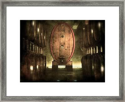 100 Hl - Italian Red Wine Framed Print