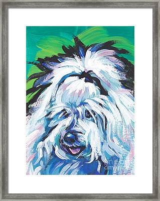 100 Per Cent Cotton Framed Print by Lea S