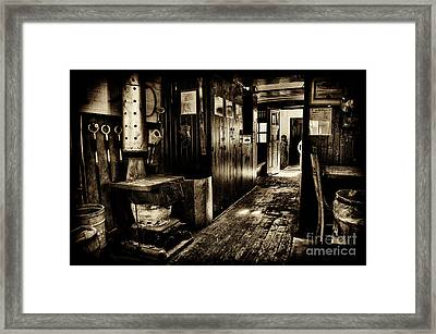 100 Year Old Prr Caboose Framed Print by Paul W Faust - Impressions of Light