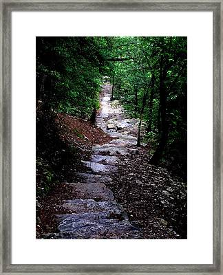 1000 Steps In Mifflin Co Pa Framed Print by Jeanette Oberholtzer